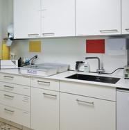 Sterilisationsraum (PVC-Boden)