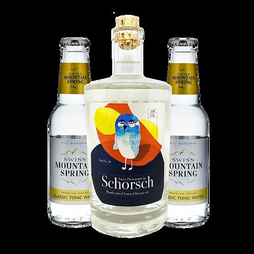 Schorsch Gin Geschenkbox mit 2 Tonic