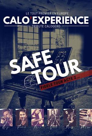 Flyer - CALO'Expérience - Safe Tour - Sa