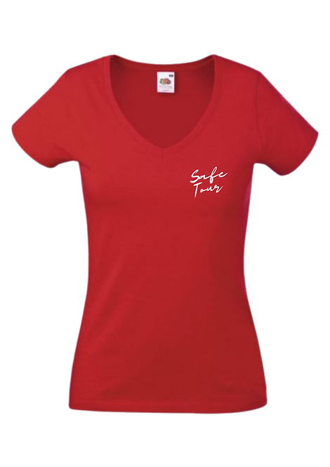 T-Shirt Col V | Femme