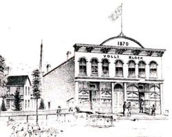 Voll's Block circa 1870