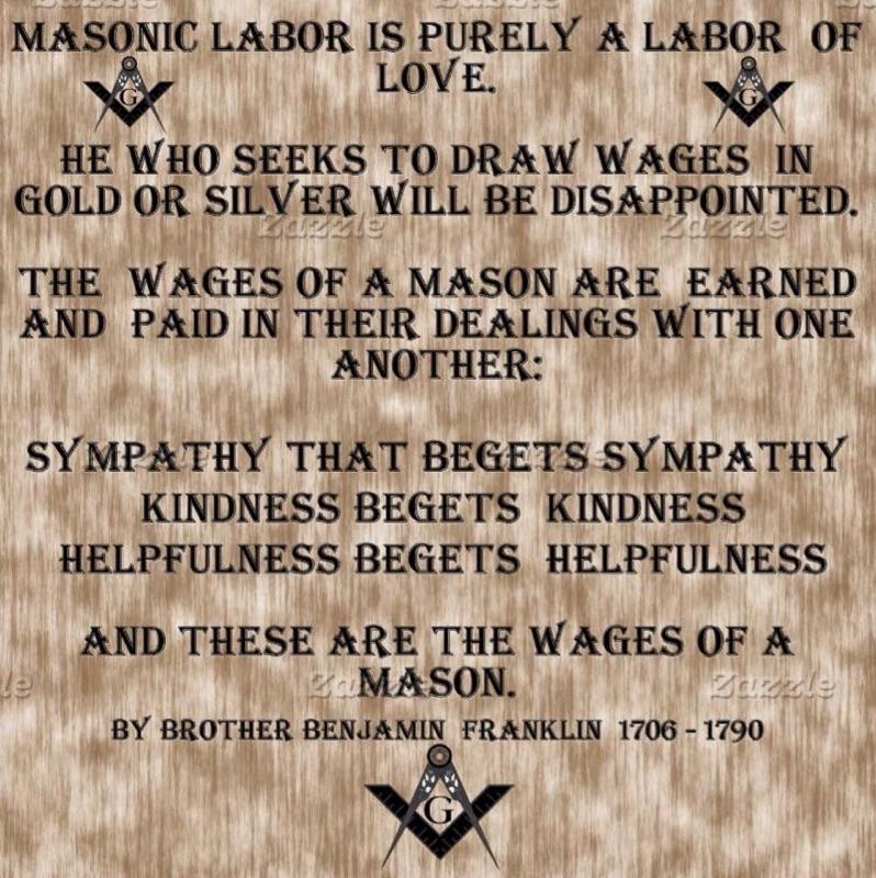 Masonic Labor