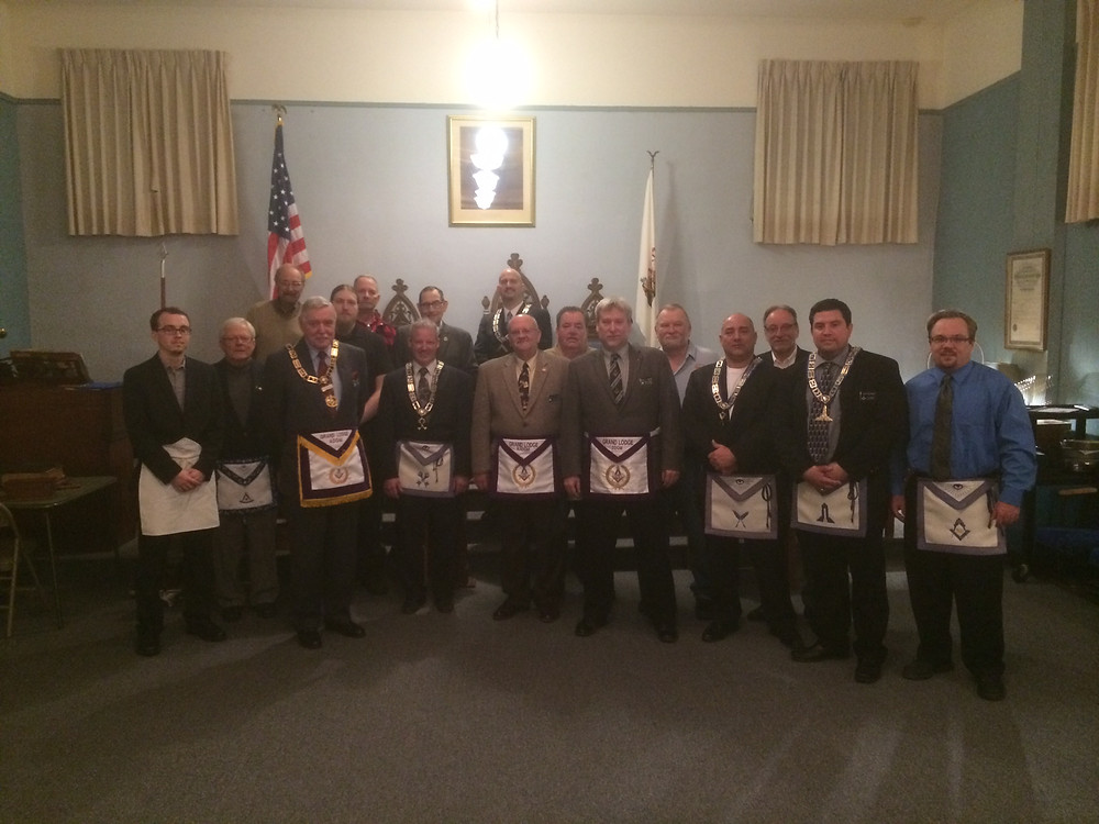 Amity Lodge #472 Official Visit (3/18/2015)