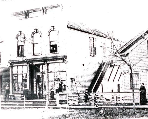 The Norris Building circa 1890