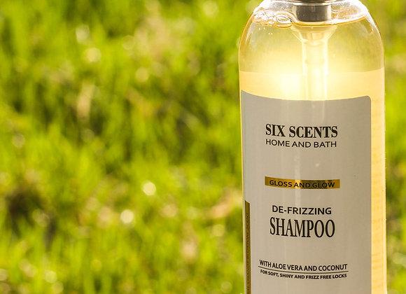Gloss and Glow: De-frizzing Shampoo