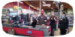 Lucky's Market Front End Team Members