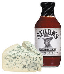 BBQ Sauce and Blue Cheese