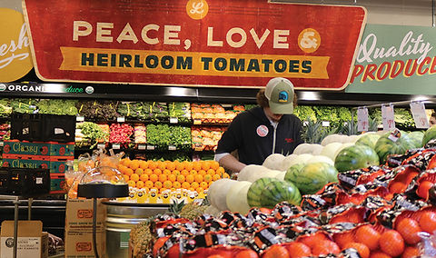 Lucky's Market Produce Department