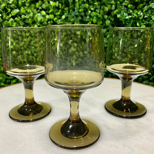 Taupe Wine Glasses