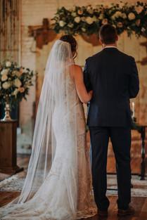Journeyman Distillery Wedding Day Bride Groom Ceremony