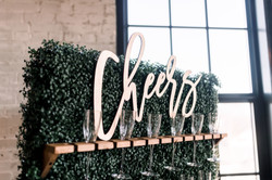 Small Cheers Sign