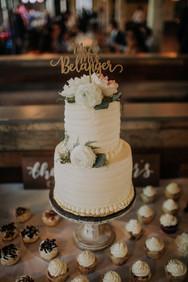Journeyman Distillery Wedding Day Cake
