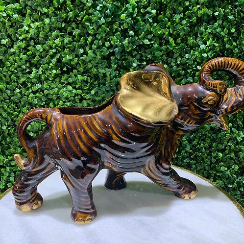 Porcelain Elephant Vase