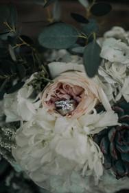 Journeyman Distillery Wedding Day Bridal Bouquet