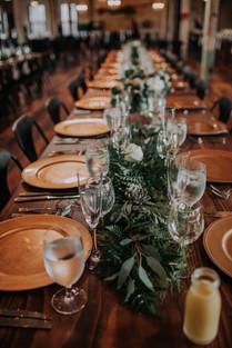 Journeyman Distillery Wedding Day Table Design