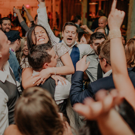 Energetic Wedding at Journeyman Distillery
