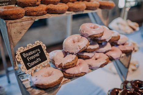 Journeyman Distillery Wedding Day Dessert Donuts