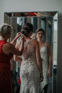 Journeyman Distillery Wedding Day Bride Groom