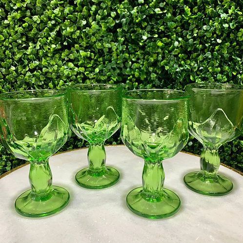 Vibrant Green Glasses