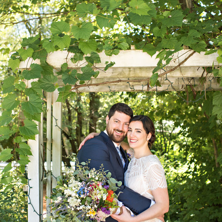 Down-to-Earth Barn Wedding