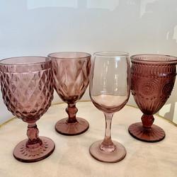 Assorted Violet Glasses