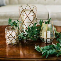 Assorted Geometric Candle Holders