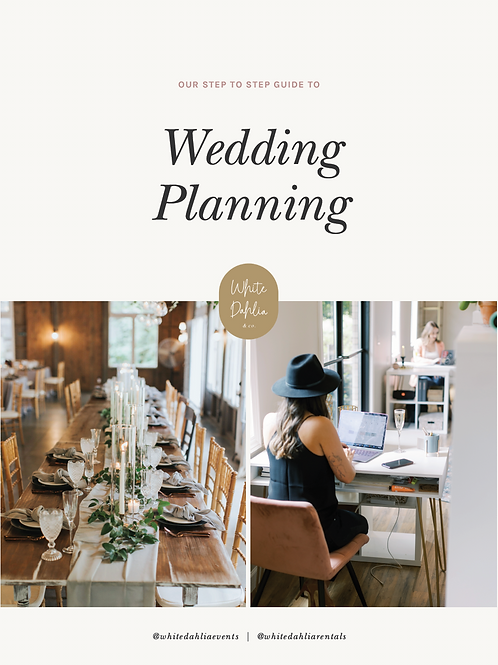 Step by Step Guide to Wedding Planning