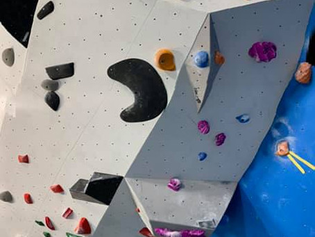 Nye bulder i klatrehallen i Volda!