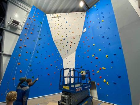 Klatrehallen i Volda: tauvegg stengt veke 2 + info om veke 3