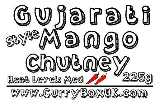 Gujarati Style Mango Chutney 225g
