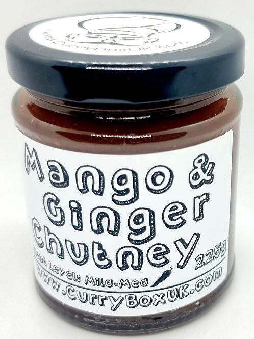 Mango & Ginger Chutney 225g