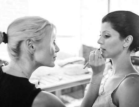 professionelles Braut Make-up