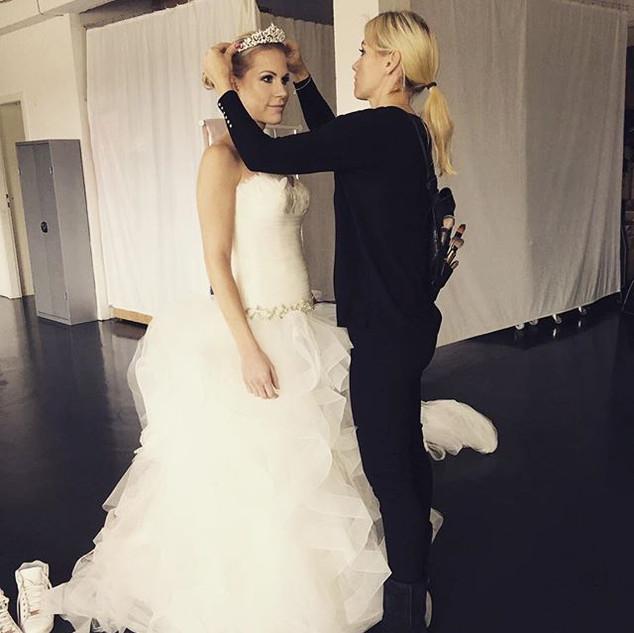 Shooting with beautiful Model Christina