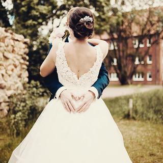 Perfektes Hochzeitswetter und ich genieß