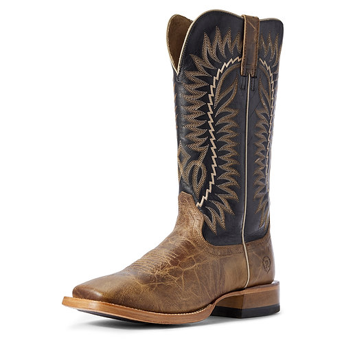 Ariat Relentless Elite Boots - Turnback Tan & Black