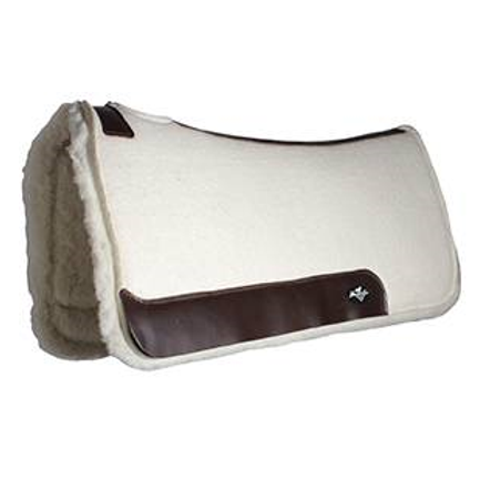 "Prof Choice Comfort Fit 1 1/4"" Fleece Bottom Pad  28""x30"""