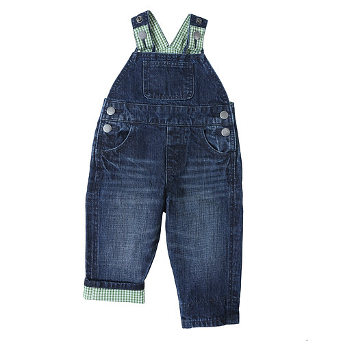 Wrangler Infant Dark Denim Overalls