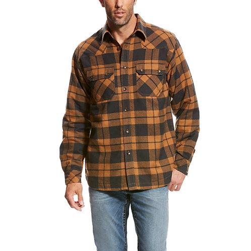 Ariat Baja Brown Lumberjack Light Jacket