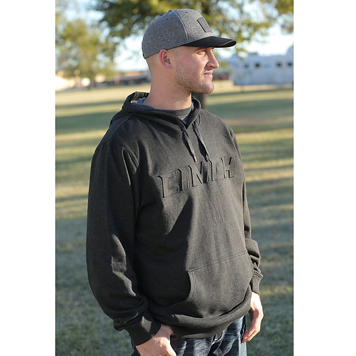 Cinch Signature Charcoal 3D Hoodie