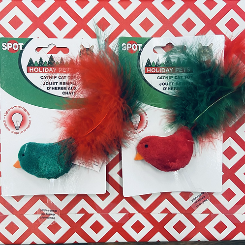 Holiday Pets - Catnip Bird Cat Toy