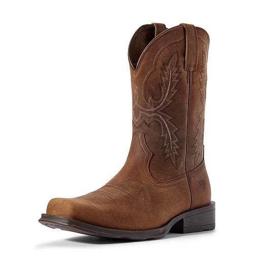 Men's Ariat Country Rambler Boots - Status Brown