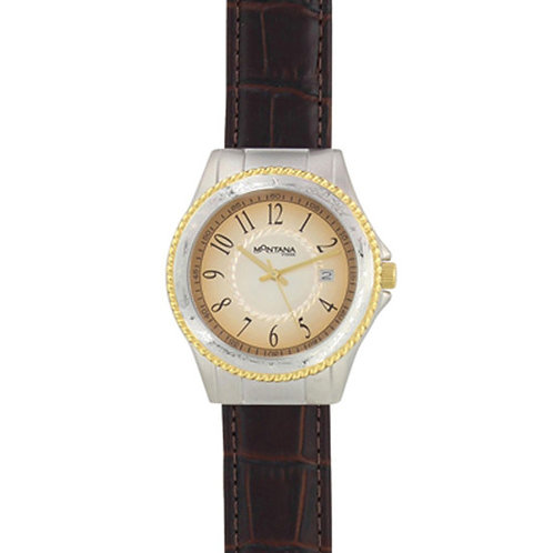 Montana Silversmith WCH3020 Brown Croc Leather Watch