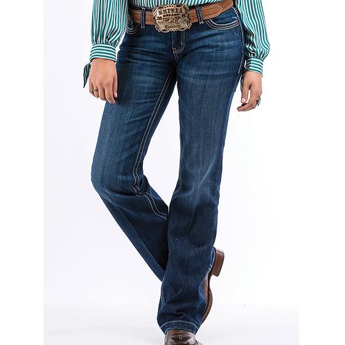 Cruel Girl Jayley Dark Stone Trouser Jeans