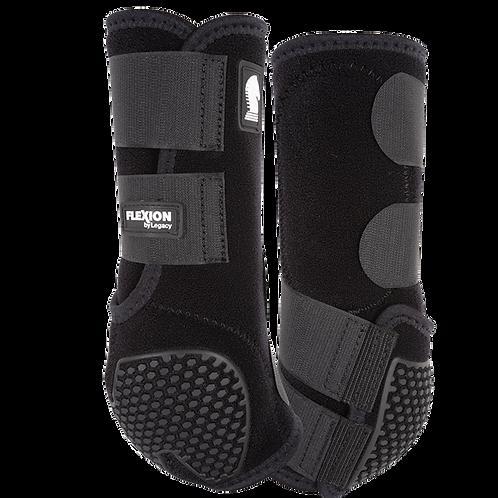Classic Equine Flexion Boots - Black