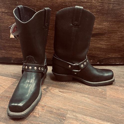 Canada West - Ladies Black Biker Boots