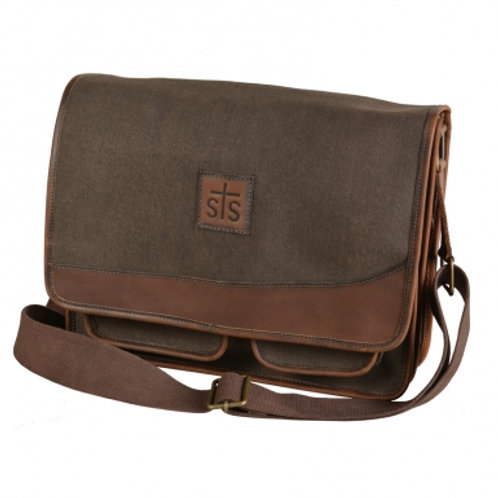 STS Ranchwear - Foreman Dark Canvas Messenger