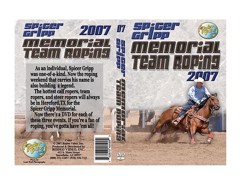Spicer Gripp 2007 Memorial Team Roping ***USED*** DVD