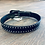 Thumbnail: Kid's Studded Basketweave Belt - Black