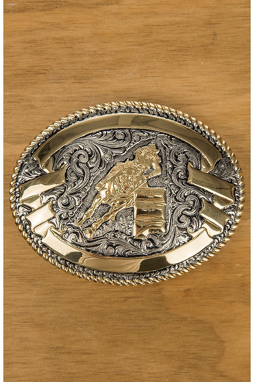 Blazin Roxx Barrel Racing Buckle