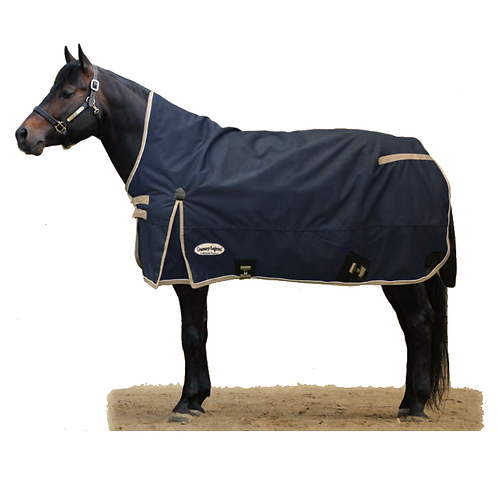 Country Legend Half Neck 1200D Winter Blanket - 280g